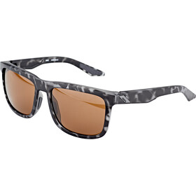 100% Blake Okulary, matte black havana/smoke